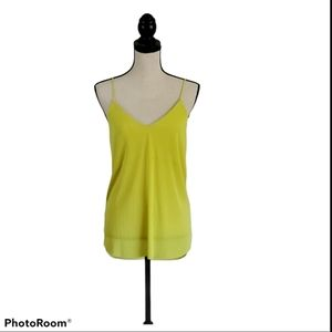 Express Chartreuse Blouse